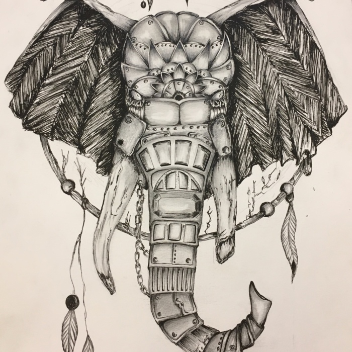 I Spend Weeks Re-Designing Animals, People And Other Subjects With Pencil And Ink