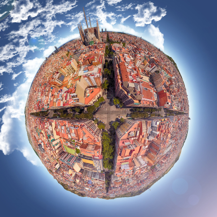 I Found Some Cool Spots On Google Earth And Turned Them Into Little Planets