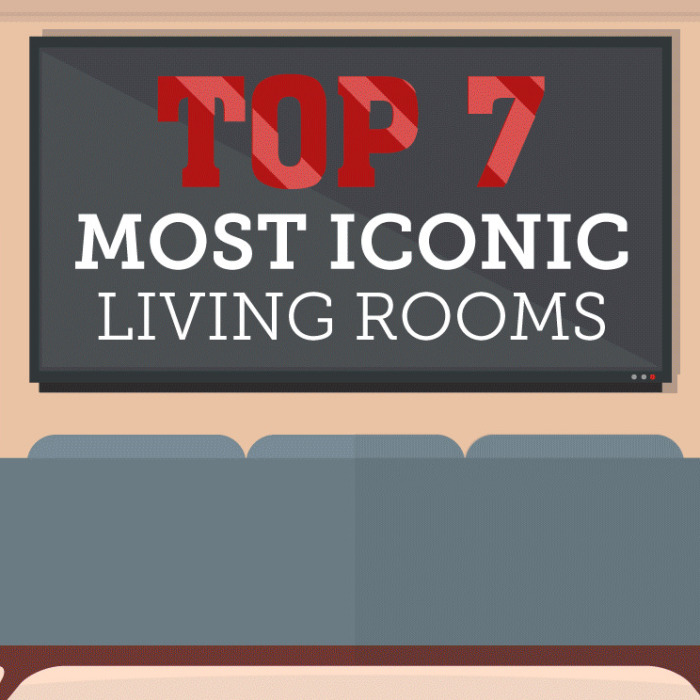 Top 7 Of The Most Iconic Living Rooms