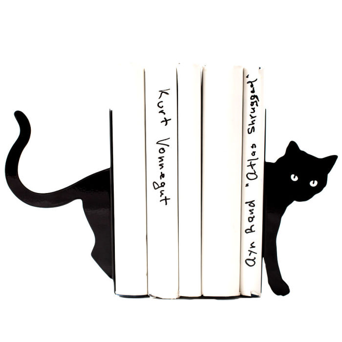 10+ Cool Bookends We Made For Cool People Who Love Books