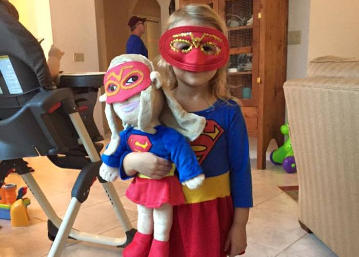 Fathers Turn Their Kids Into Superheroes