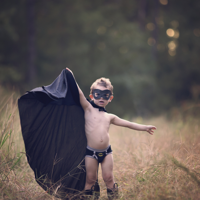 Photographer Mom Photographs Her Two Year Old Son As Batman