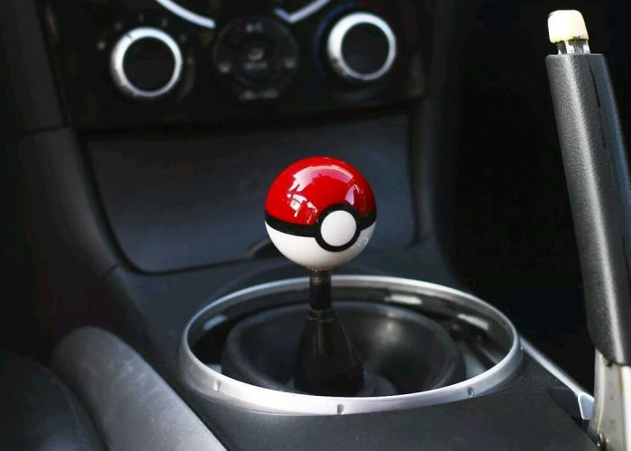 Poké Ball Shift Knob