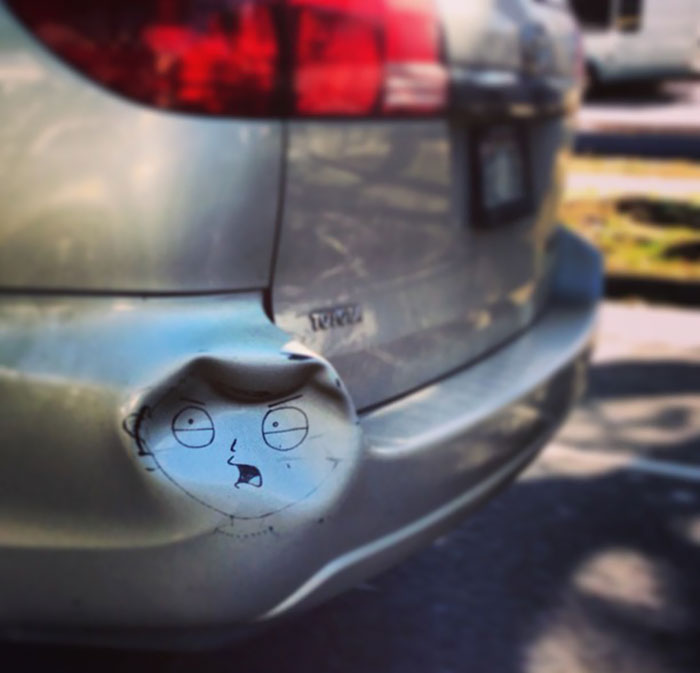 Stewie Griffin Fixes A Dent