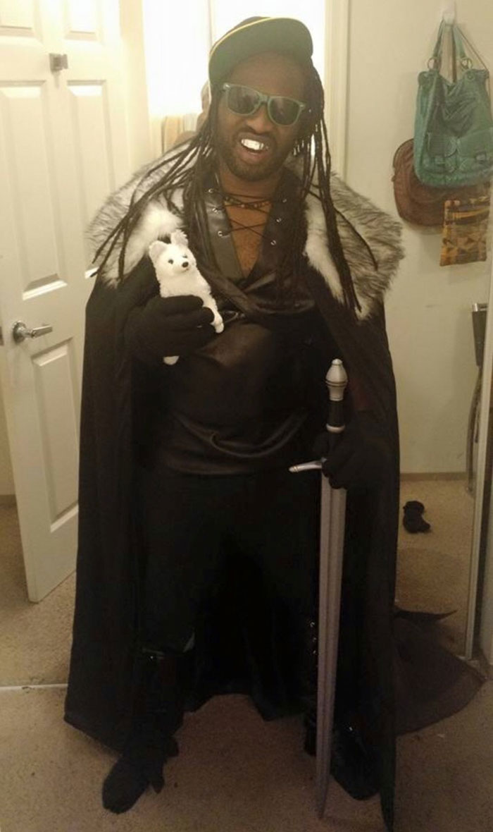 A Friend Of Mine Went As Lil Jon Snow This Halloween