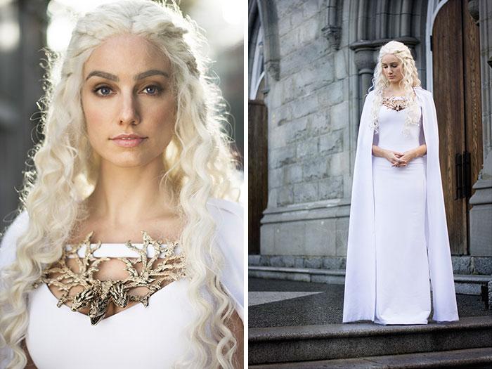 My Homemade Daenerys Targaryen Costume
