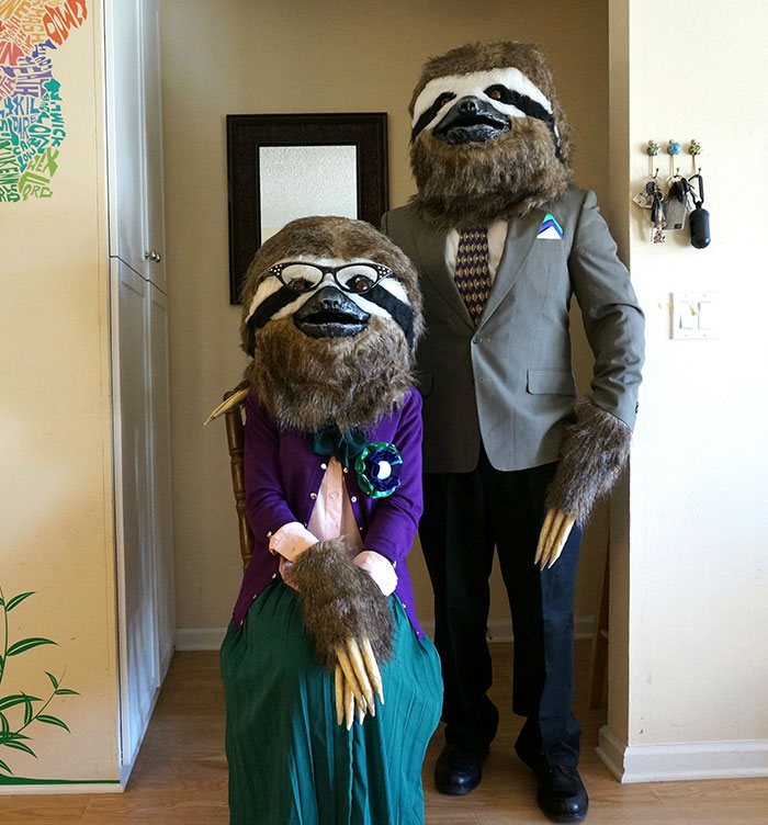 I Made Sloth Costumes!! And They Make Me So Happy!