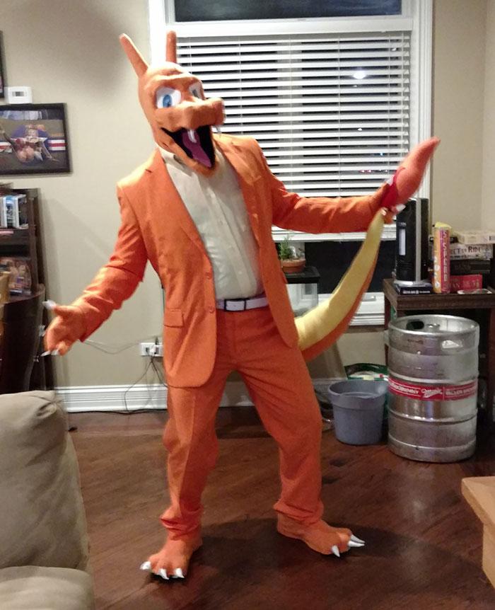 Charizard Costume I Made For Halloween