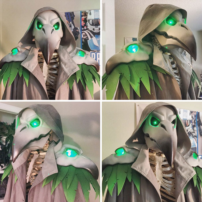 I'm Working On A Plague Doctor Reaper Costume
