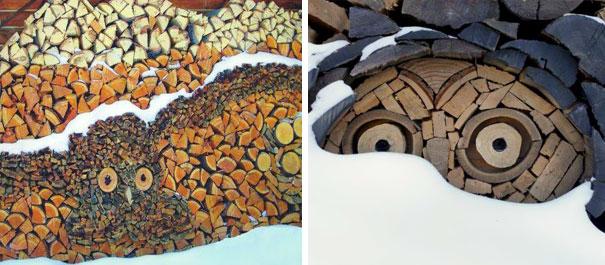 Owl Mosaics