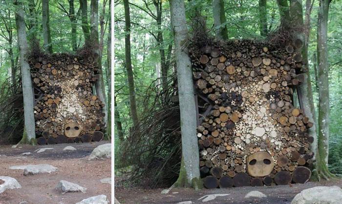 10 Personas que han convertido el apilar leña en una forma de arte