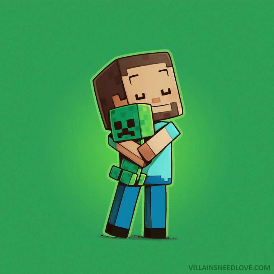 Creeper & Steve