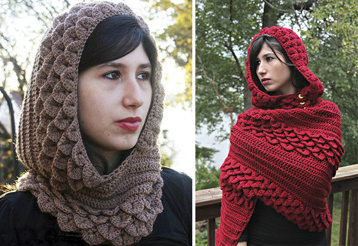 crocheted-dragon-scales-will-keep-you-warm-in-winter (3)