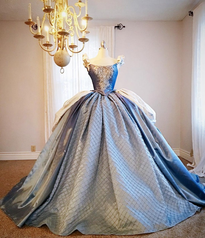 this dad makes disneyinspired dresses for his kids and