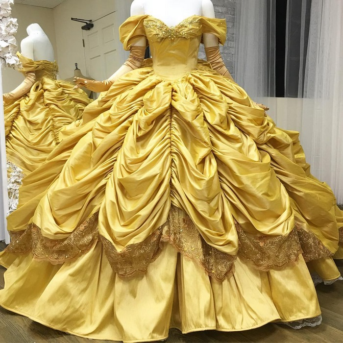 This Dad Makes Disney-Inspired Dresses For His Kids And They Look ...