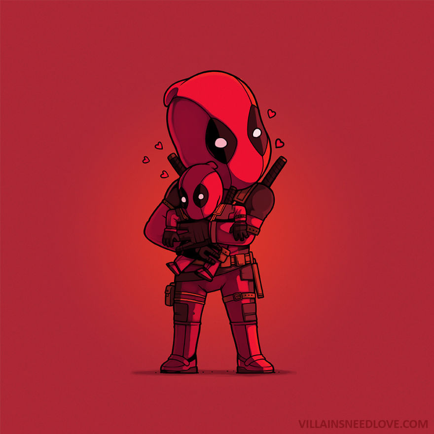Deadpool Just  Loves Himself
