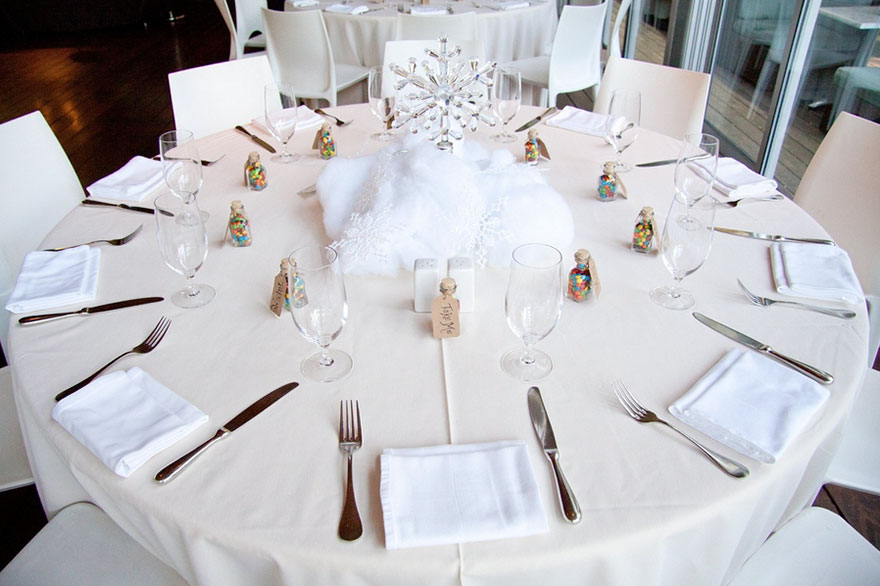 Each Table At This Couples Wedding Was Inspired By A Different