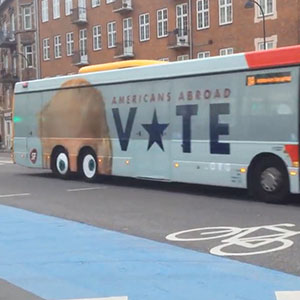 Copenhagen Trolls Trump With Genius Bus Ad, And You Have To See What Happens When Bus Moves