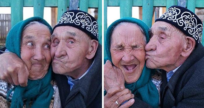 15+ Elderly Couples That Prove Love Has No Age Limit