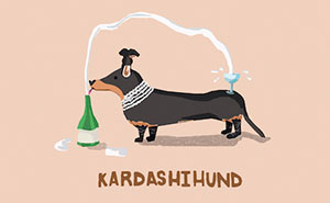8 Punny Greeting Cards With Celebrities As Animals