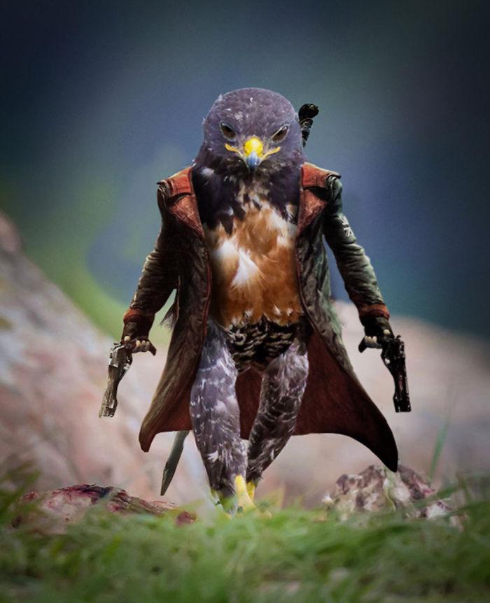 Badass Hawk Dmc