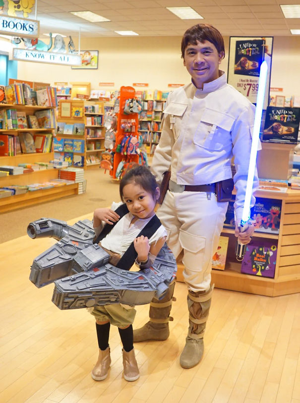 Rey And Luke Costume