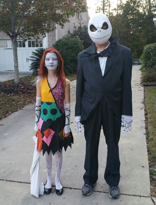 Jack And Sally Father Daughter Costume