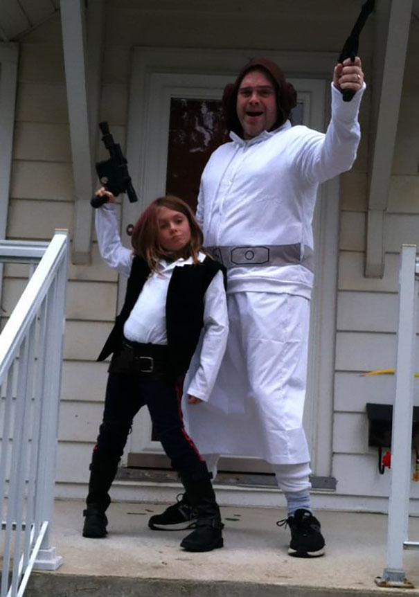 When Your Daughter Says She Wants To Be Han Solo