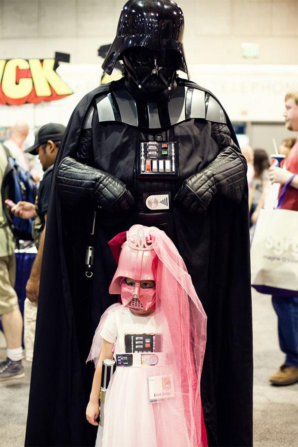 Darth Vader & Baby Vader