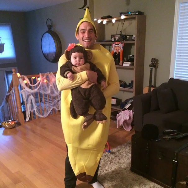 Little Monkey And A Banana