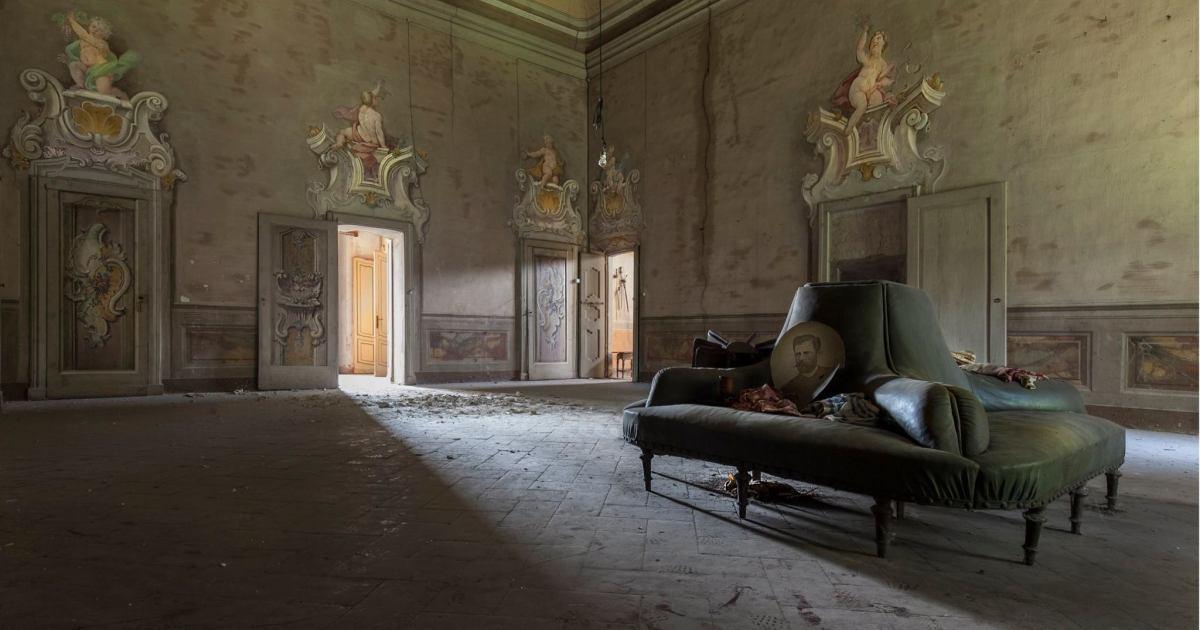 Abandoned Luxury: I Traveled Around Europe Photographing Abandoned Places
