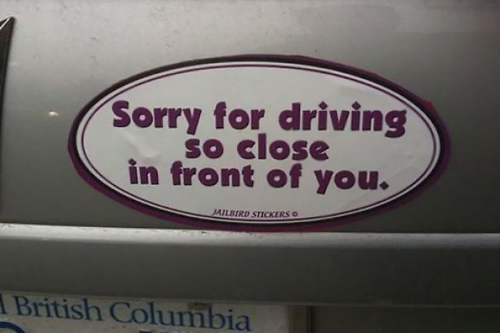 Canadian Bumper Sticker