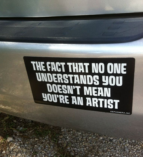 Funny Bumper Car Stickers