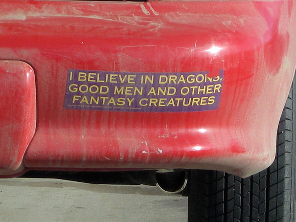 I Believe In Fantasy Creature