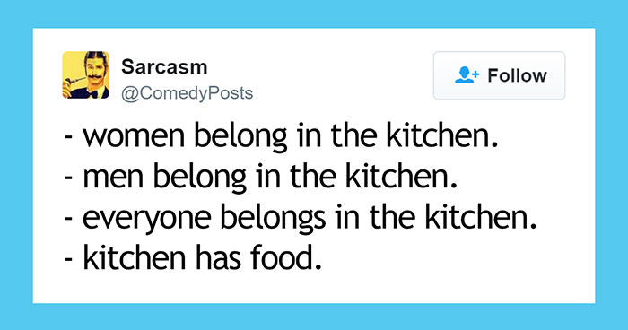 10+ Funny Tweets That Will Make Feminists Laugh