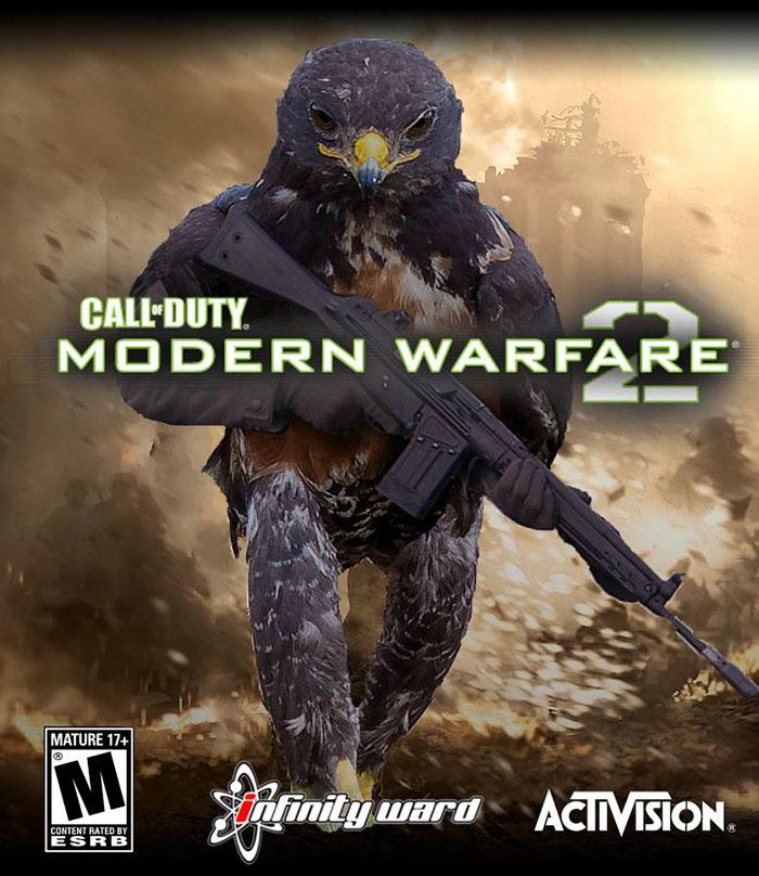 Caw Of Duty Modern Birdfare 2