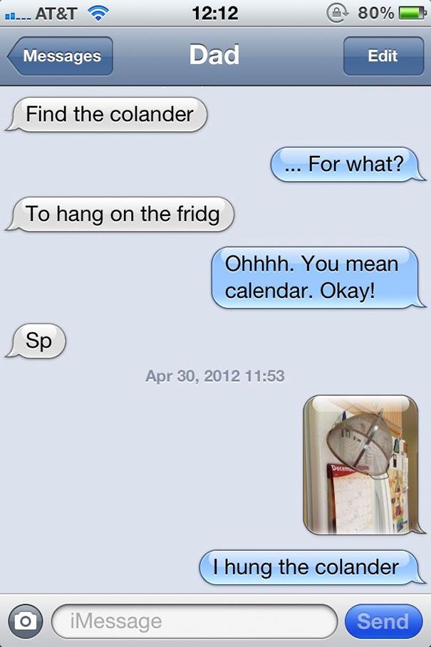 Find The Colander