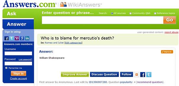 Smart Ass Answer Is Smart Ass