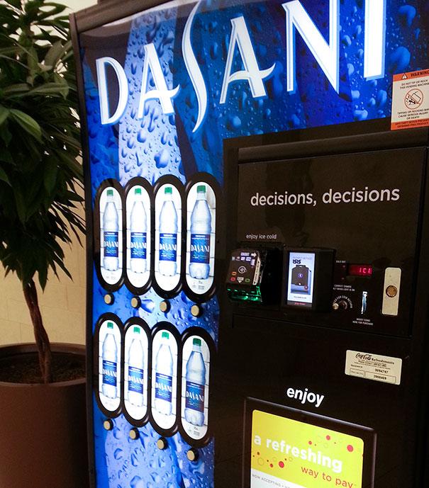 Mildly Sarcastic Vending Machine