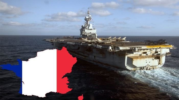 France Continued To Participate Carriers Bombardments Is   World Daily News