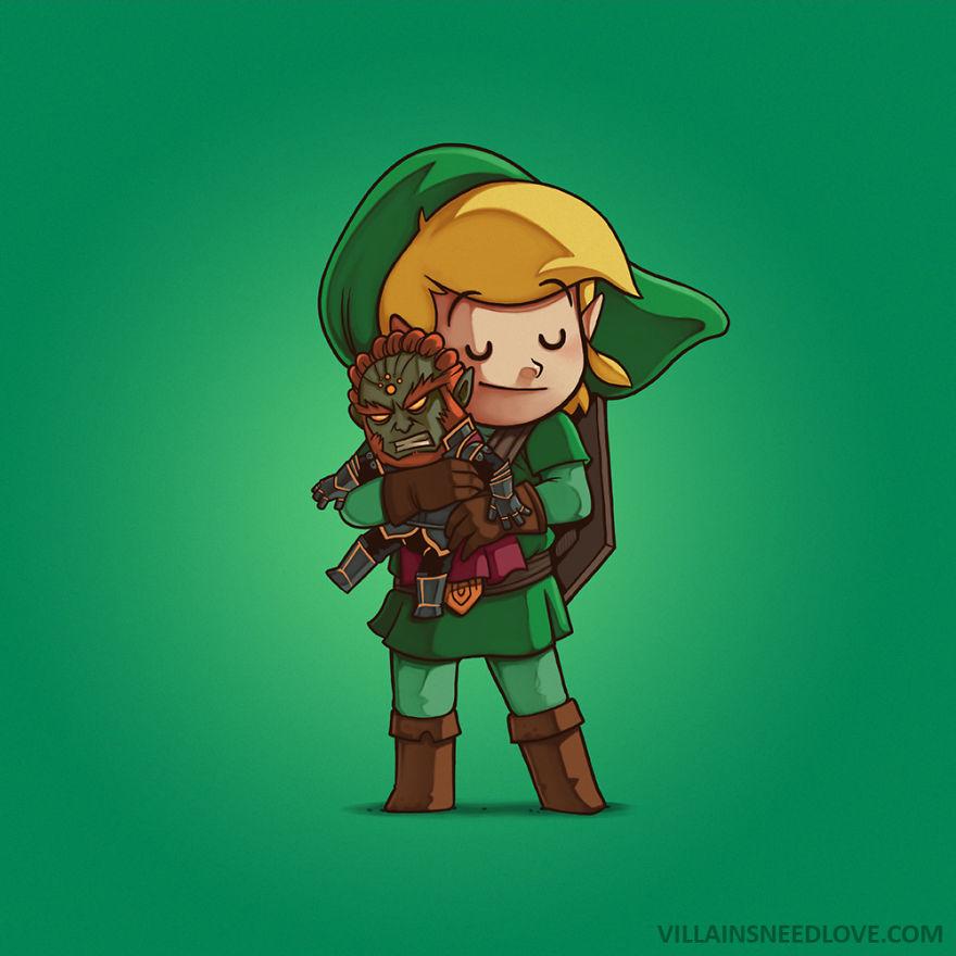 Ganondorf & Link