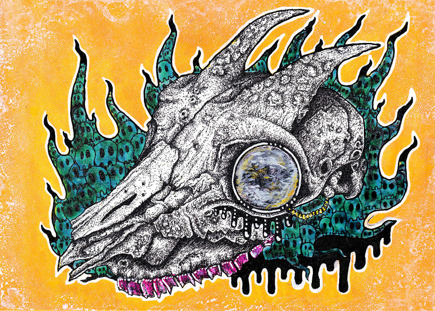 The Monsters Made Me Do It: Using Art To Survive Depression
