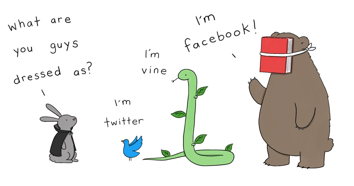 Simpsons Illustrator Shows What Would Happen If Animals Celebrated ...