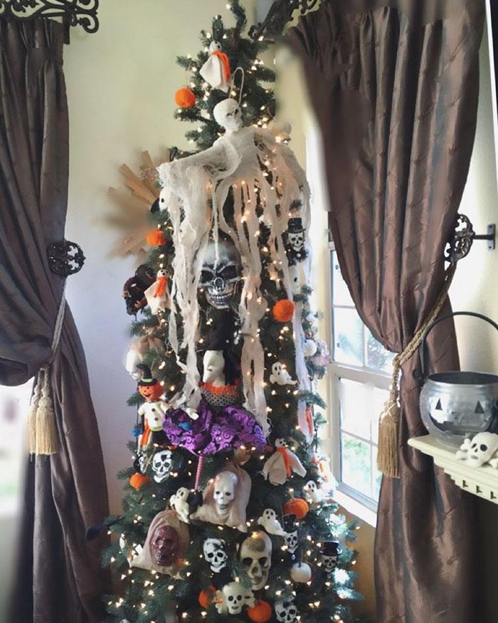 Halloween Christmas Trees