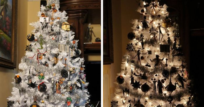 Halloween Christmas Tree.Halloween Christmas Trees Are A Thing Now 29 Pics Bored