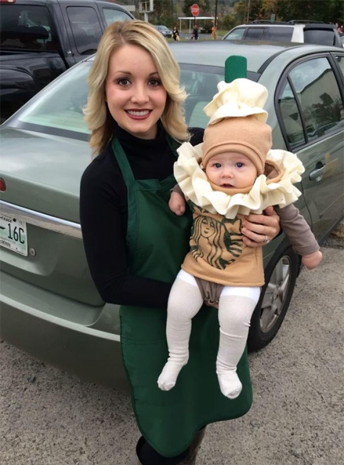 Starbucks Barista And Frappuccino Costume