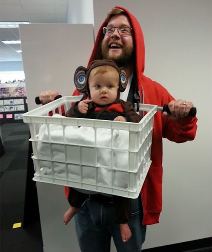 E.T. And Elliot Costume
