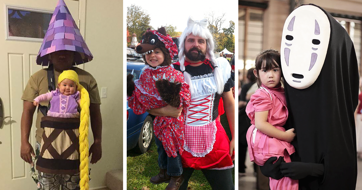 15+ Of The Best Parent & Child Halloween Costume Ideas ...