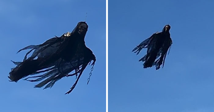 Guy Builds His Own Dementor And People Are Freaking Out
