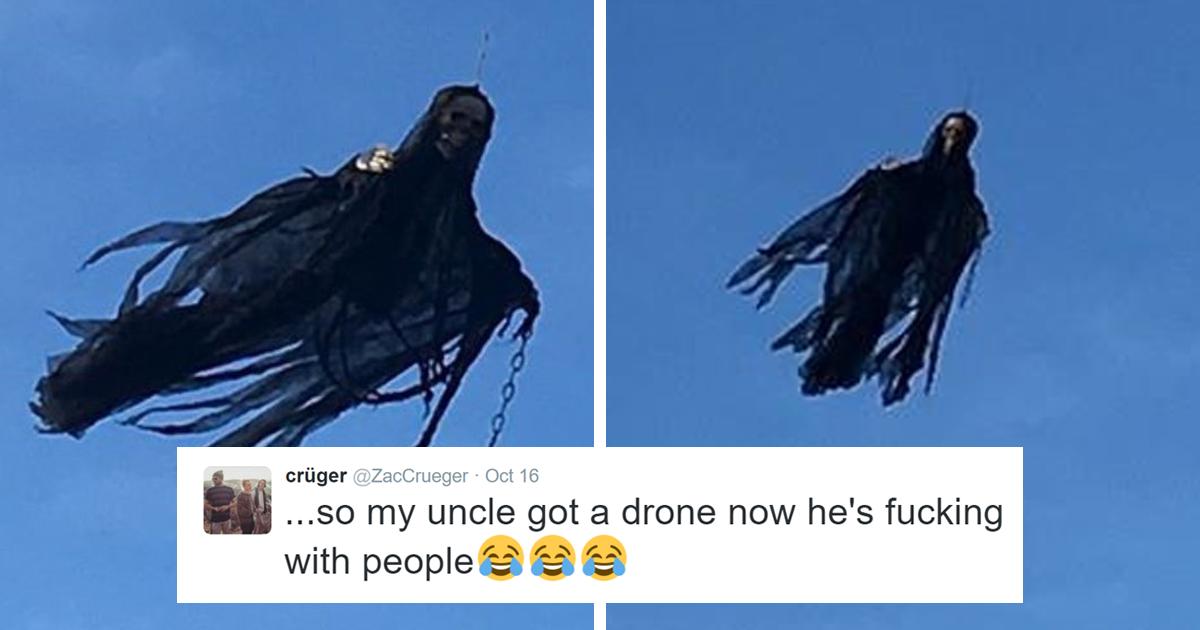 Halloween Drone